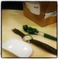 hombres tela reloj analógico de pulsera de cuarzo (colores surtidos)