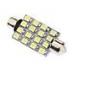 Festoon 41mm 1.5W 16xSMD3528 White Light LED-lamppu auton lukulamppu (12V)
