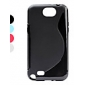 S Shape Soft TPU Case for Samsung Galaxy Note 2 N7100 (Assorted Colors)