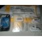 4 in 1 HD-Screen Protector mit Reinigungstuch für Samsung Galaxy Ace S5830
