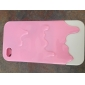 Etui Style Glace Fondue pour iPhone 4/4S - Couleurs Assorties