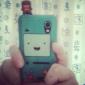 Etui Rigide Style Game Boy Dessin Animé pour Samsung Galaxy Ace S5830