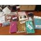 s-forme cas mou de TPU pour l'iphone 5/5s (couleurs assorties)