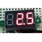 """V20D 0.36 """"LED 3-3-Ligne Numérique à courant continu Module de mesure Voltmètre (blanc + vert, DC 0 ~ 100V)"""