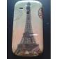Projeto retro Eiffel Caso Padrão Torre rígido para Samsung Galaxy S3 Mini I8190