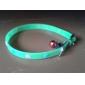 Huella Patrón Cuello fluorescente para perros y gatos