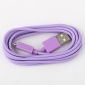 USB Sync and Charge Cable for Samsung Galaxy S3 I9300, I9100 & Others (Assorted Colors, 200cm Length)