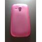 Silicone Case Estilo simples para Samsung Galaxy S3 Mini I8190 (cores sortidas)