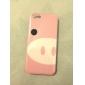 padrão porco estojo rígido de alta qualidade bonito para iphone 5/5s