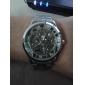 hombres aleación analógico reloj mecánico casual (plata)