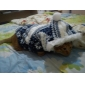 고양이 강아지 코트 후드 강아지 의류 따뜻함 유지 패션 눈송이 브라운 레드 블루