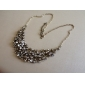 Bohemian Alloy Necklace With Diamond Mounted