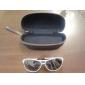 Gradient Lens Unisex Sunglasses Biały Niebieski Rama lotnika