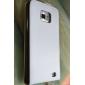 magnet Flip Style skyddande äkta läderväska till Samsung i9100 (blandade färger)