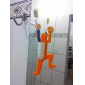 titular de baño escalada hombre diseño de cepillo de dientes (color al azar)