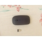 Mini 2.4GHz Wireless 800/1200DPI Optical Mouse with USB Receiver (Black)