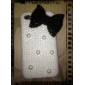 Fashion Bowknot Pearl Diamond Hard Case for iPhone 4/4S