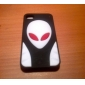 Extra-terrestrial Pattern Style Silicone Case for iPhone 4 and 4S (Assorted Colors)