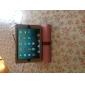 Nahka kuori jalustalla iPad minille (värivalikoima)