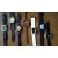 kvinnors vintage fall brett läderband quartz armbandsur (blandade färger)