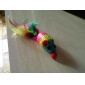 Little Colorful Nylon Mouse Shaped Toy for Cats