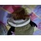 Толстовка с капюшоном, костюм для домашних питомцев (XS-XL)
