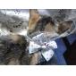 개 고양이를위한 장소 패턴 명주 스타일 조절 나비 넥타이
