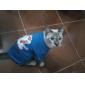 Belle Coton Motif Lion T-shirt pour chiens (XS-L)