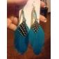 Feather Tassel Earrings