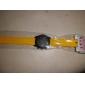 Unisex Silikon Analog Kuvars Kol Saati (Sarı)