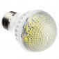 Lâmpada LED em Bola Branco Quente E27 7W 120x3528 SMD 580-630LM 2700-3500K (220-240V)