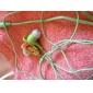 japansk stil stereo i örat hörlurar (blandade färger)
