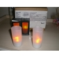 Iluminación LED para Decoración de Boda de Vela Sensible al Viento