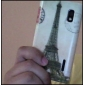 Eiffel Tower Pattern Hard Case for LG Optimus L5 E612