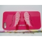 Angel's Wings Design High Quality Hard Case with Stand for iPhone 5/5S (Assorted Colors)