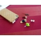 Bowknot Shaped 3.5 MM Pearl Anti-dust Earphone Jack for iPhone and iPad