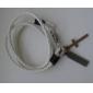 Doble anillo de cuero Crane Parts Accesorios Pulseras