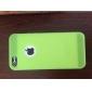 circulaire étui souple de grain à l'arc pour l'iphone 5/5s (couleurs assorties)