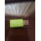 mini usb 2.0 MicroSD pembaca kad memori (hijau)