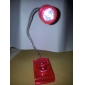 Adjustable Angle Mini LED Reading Light (Battery Included, Random Color)