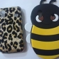 3D Design Bee Pattern Soft Case for Samsung Galaxy Ace S5830 (Assorted Colors)