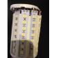 E26/E27 15 W 86 SMD 5050 1260 LM Warm White Corn Bulbs AC 220-240 V
