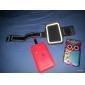 Bling Bling strass 3.5MM Anti-spina della polvere per iPhone e cellulari Samsung (colore casuale)