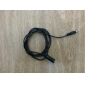 3.5 mm Female to Male Extension Audio Cable (Black) 1M