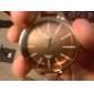Unisex Simple Elegant Style PU Analog Quartz Wrist Watch (Assorted Colors)