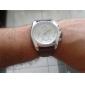 Reloj Pulsera Quartz Análogo de Cuero para Hombres - Colores Surtidos
