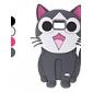 삼성 갤럭시 I9100이 (모듬 색상)의 아름다운 고양이 디자인 소프트 케이스