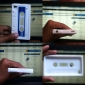 estilo cartucho de silicona para el iPod Touch 4 color blanco