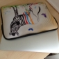Zebra Laptop Sleeve Case voor MacBook Air Pro / HP / DELL / Sony / Toshiba / Asus / Acer