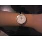 Mulheres Relógio de Moda Quartz Lega Banda Bracelete Prata